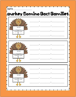 http://www.teacherspayteachers.com/Product/Turkey-Domino-Fact-Families-404419