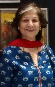 contemporary visual artist Bharati Sagar