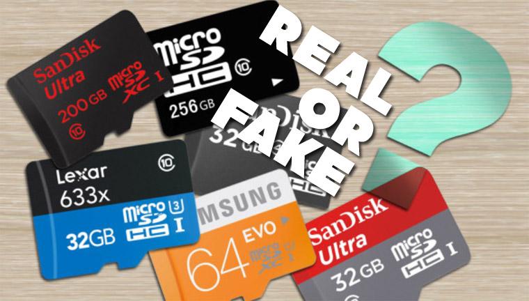 Cara Membedakan MicroSD Asli dan Palsu