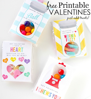free printable valentines day favors