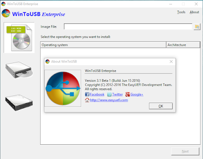 WinToUSB Enterprise 3 For Windows 10