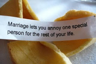 Funny marriage fortune cookie picture