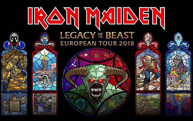 Iron Maiden - Kraków, Tauron Arena