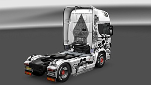 WAYANG Scania skin by GCNK