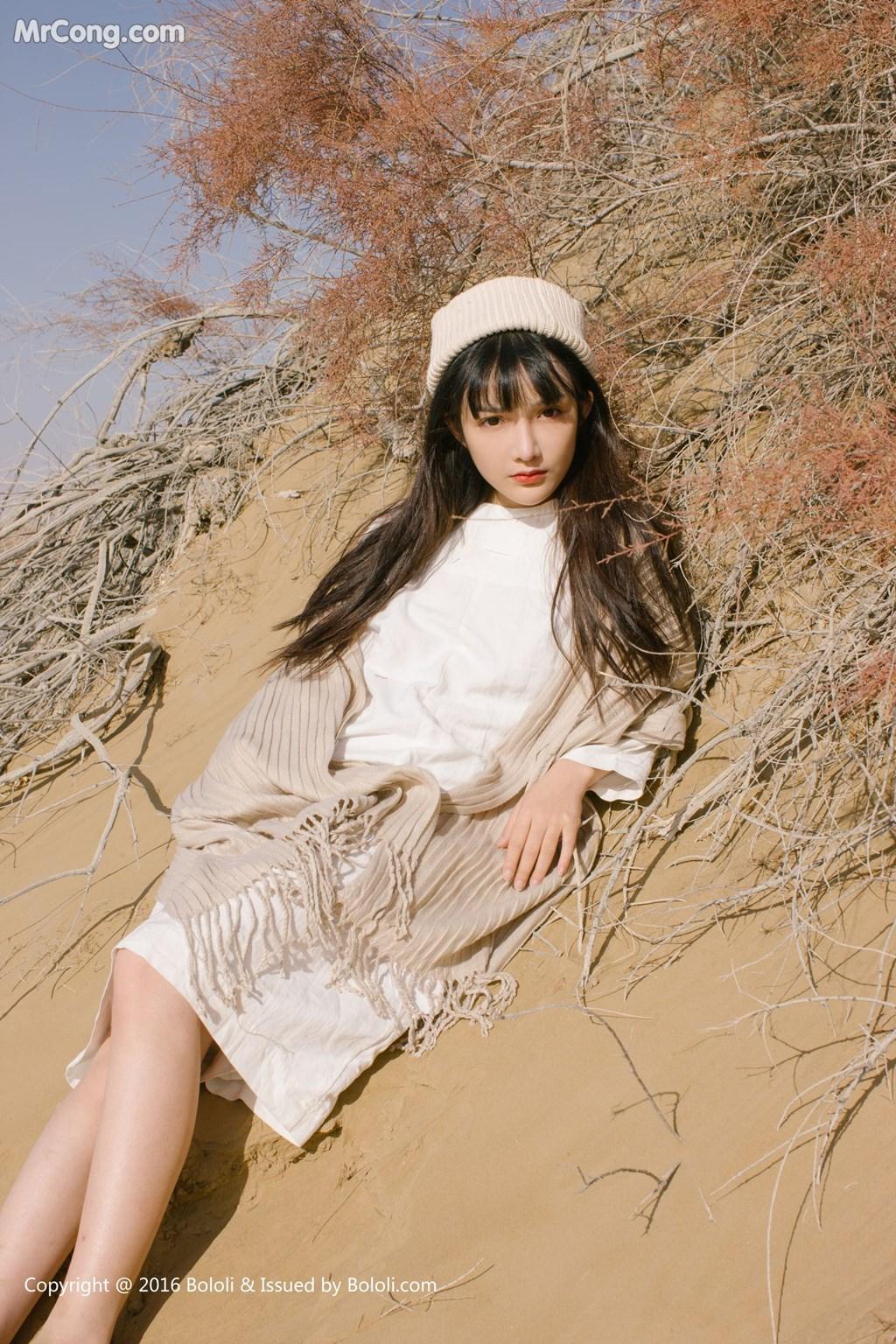 Image Tukmo-Vol.102-Zhi-Ying-MrCong.com-008 in post Tukmo Vol.102: Người mẫu Zhi Ying (之应) (41 ảnh)