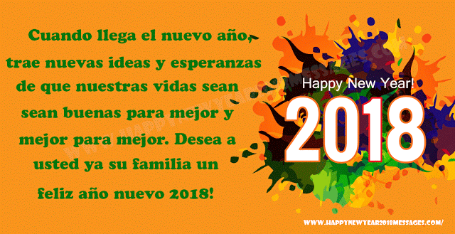 Feliz año nuevo 2018 advance messages sms greetings wishes