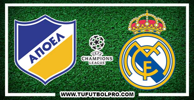 Ver Apoel vs Real Madrid EN VIVO Por Internet Hoy 21 de Noviembre 2017
