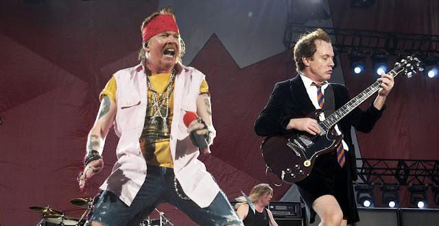 AC/DC,AXL ROSE
