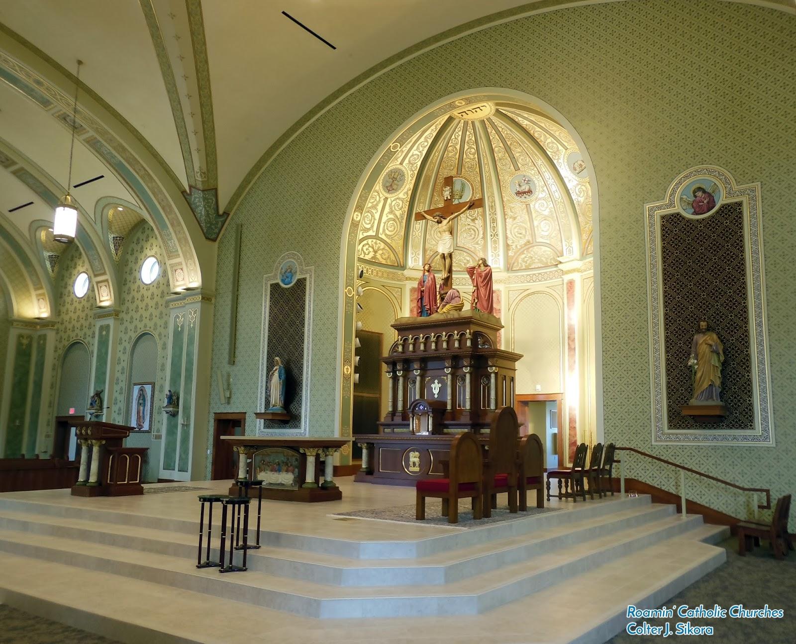 Roamin Catholic Churches A Look Inside The New St