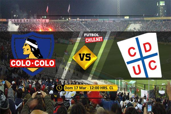 Mira Colo Colo vs Universidad Católica en vivo y online por la Primera División