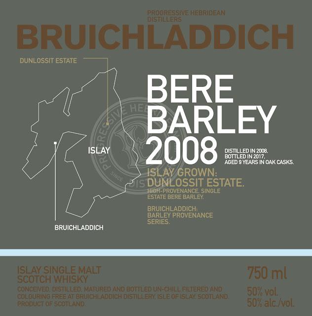 Bruichladdich Bere Barley 2008 Dunlossit Estate