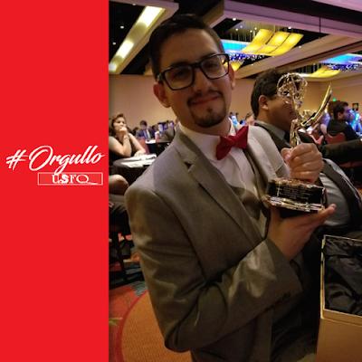 Diego Sylva, graduado COCOA, entre los ganadores de los Lone Star EMMY Awardees