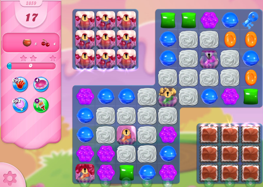 Candy Crush Saga level 2859
