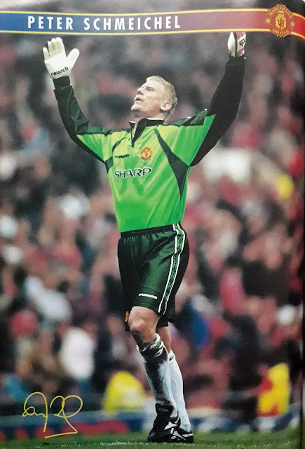 PIN UP PETER SCHMEICHEL (MANCHESTER UNITED)