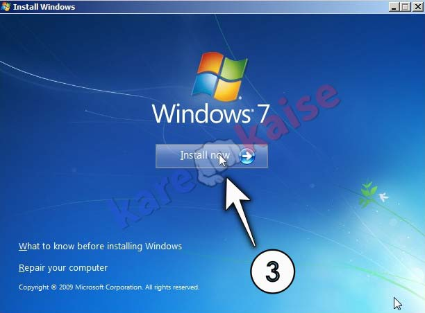 windows-7-install-kare
