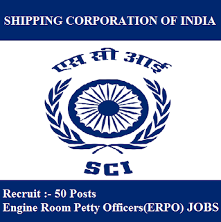 Shipping Corporation of India Limited, SCI, Maharashtra, ERPO, Graduation, freejobalert, Sarkari Naukri, Latest Jobs, sci logo