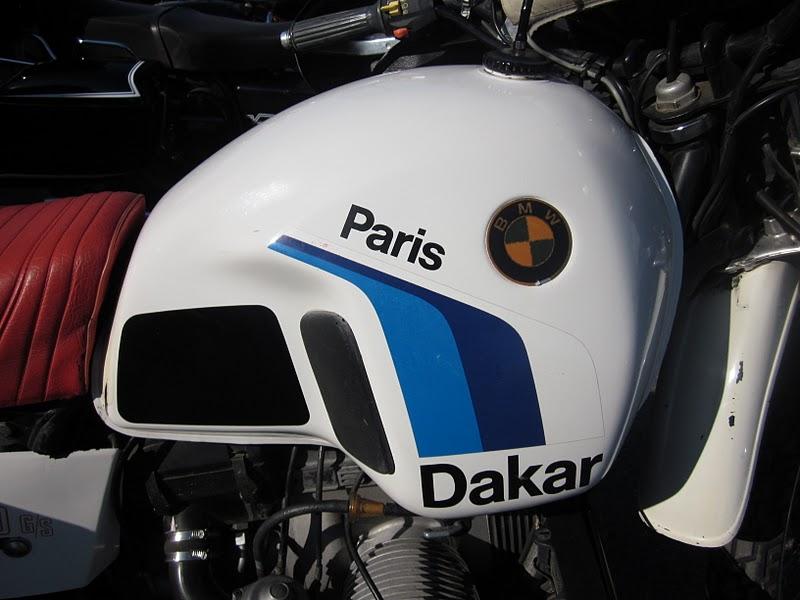 Oldmotodude 1985 Bmw R80gs Paris Dakar 2011 Retro Riders Show