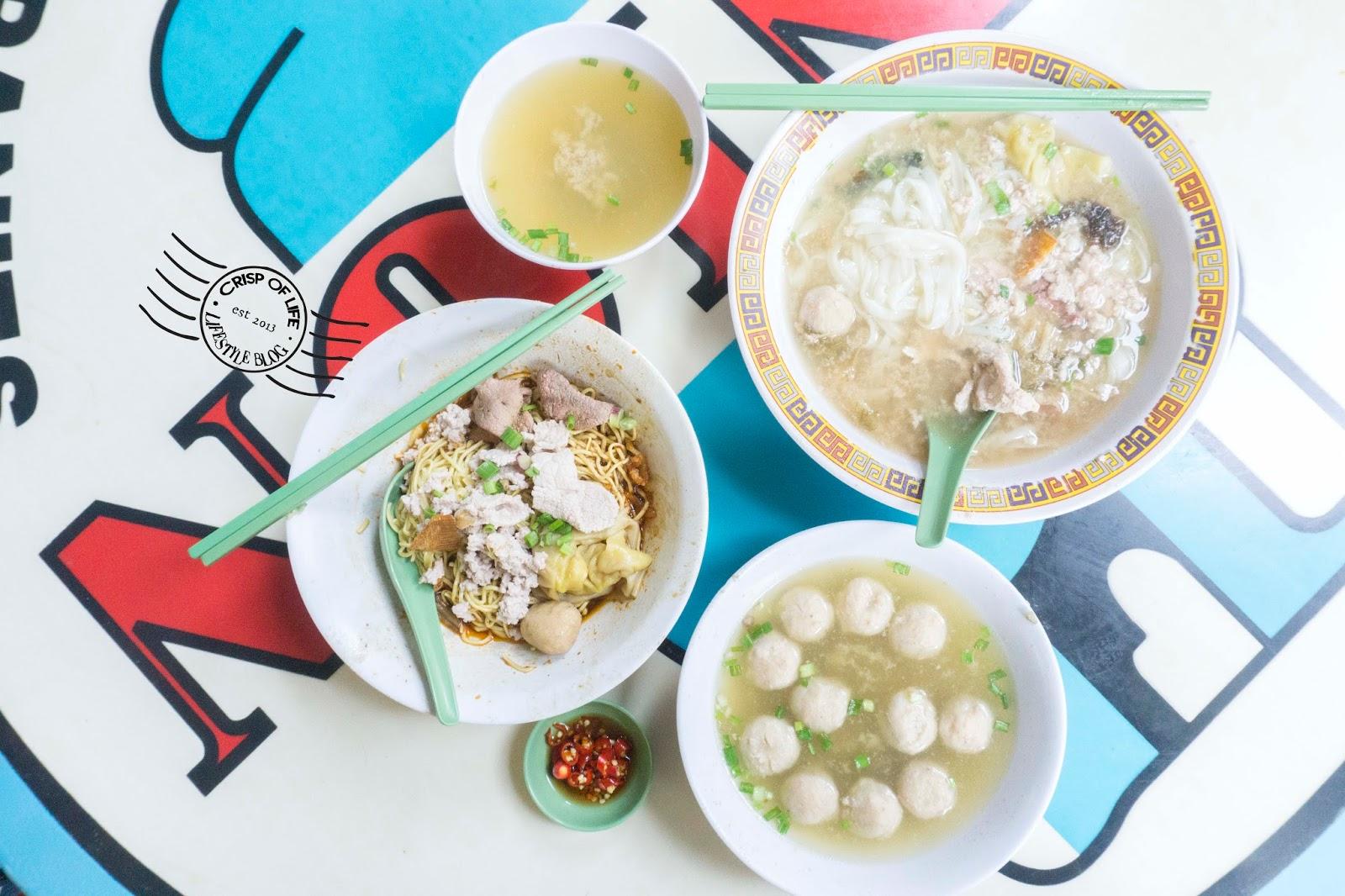 Hill Street Tai Wah Pork Noodles Bak Chor Mee Singapore Michelin