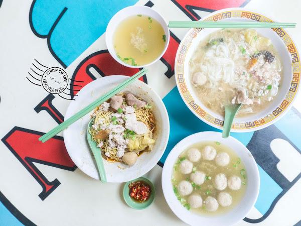 Hill Street Tai Wah Pork Noodles (Bak Chor Mee) - Michelin 1 Star Food @ Singapore
