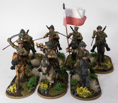 28mm Polish Cavalry World War 2