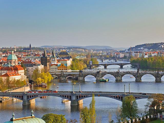 fiume-Moldava-Praga