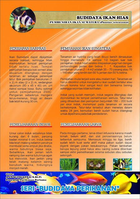 Media Penyuluhan Perikanan : Leaflet