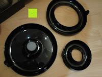 Ringe: Nussknacker Set Cheops Nussknacker mit 3 Schalen Kunststoff 19x8,5x7cm