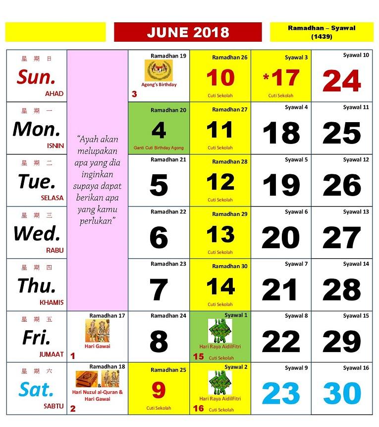 2018 calendar kuda