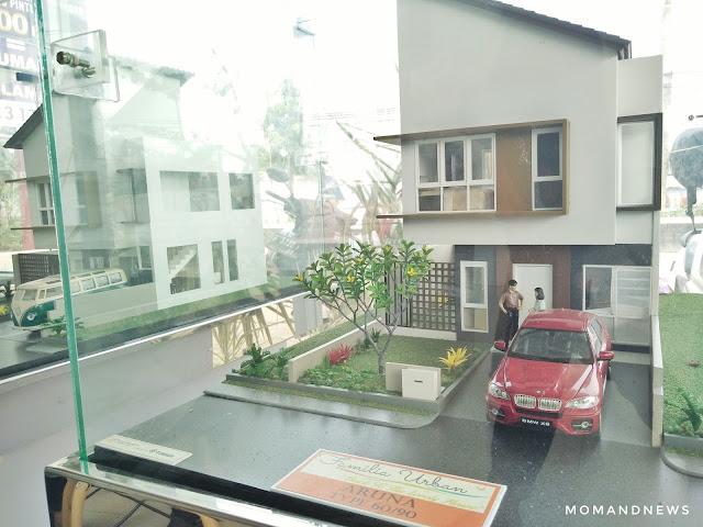 tipe rumah di Familia Urban Bekasi