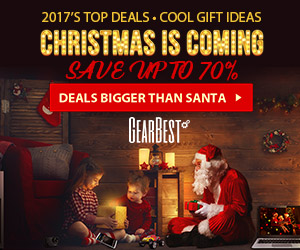 GearBest Christmas promo