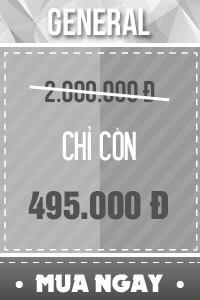 Vé GENERAL - 495.000 đ