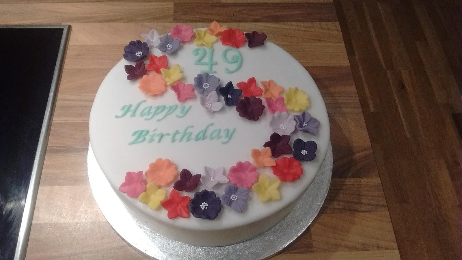 Theresas Backstube Blumen Zum Geburtstag