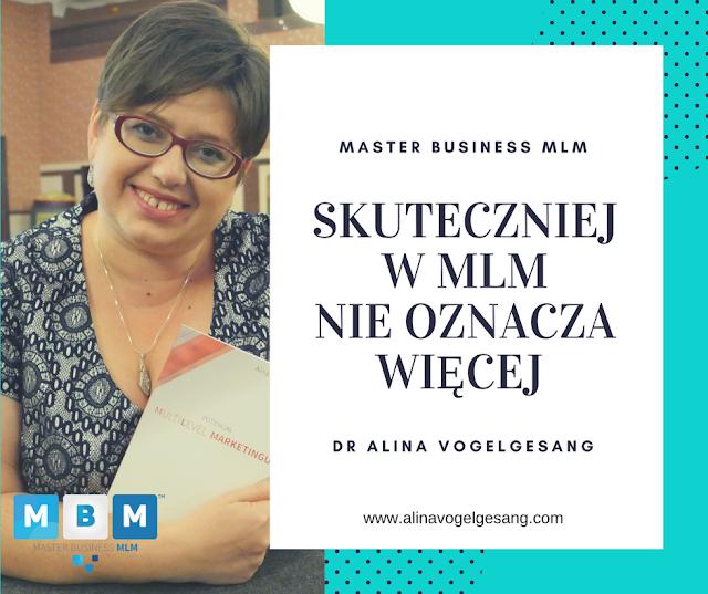 Alina Vogelgesang ekspert MLM