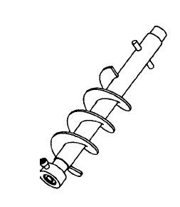 Auger Shaft ~ Auger Tool Image