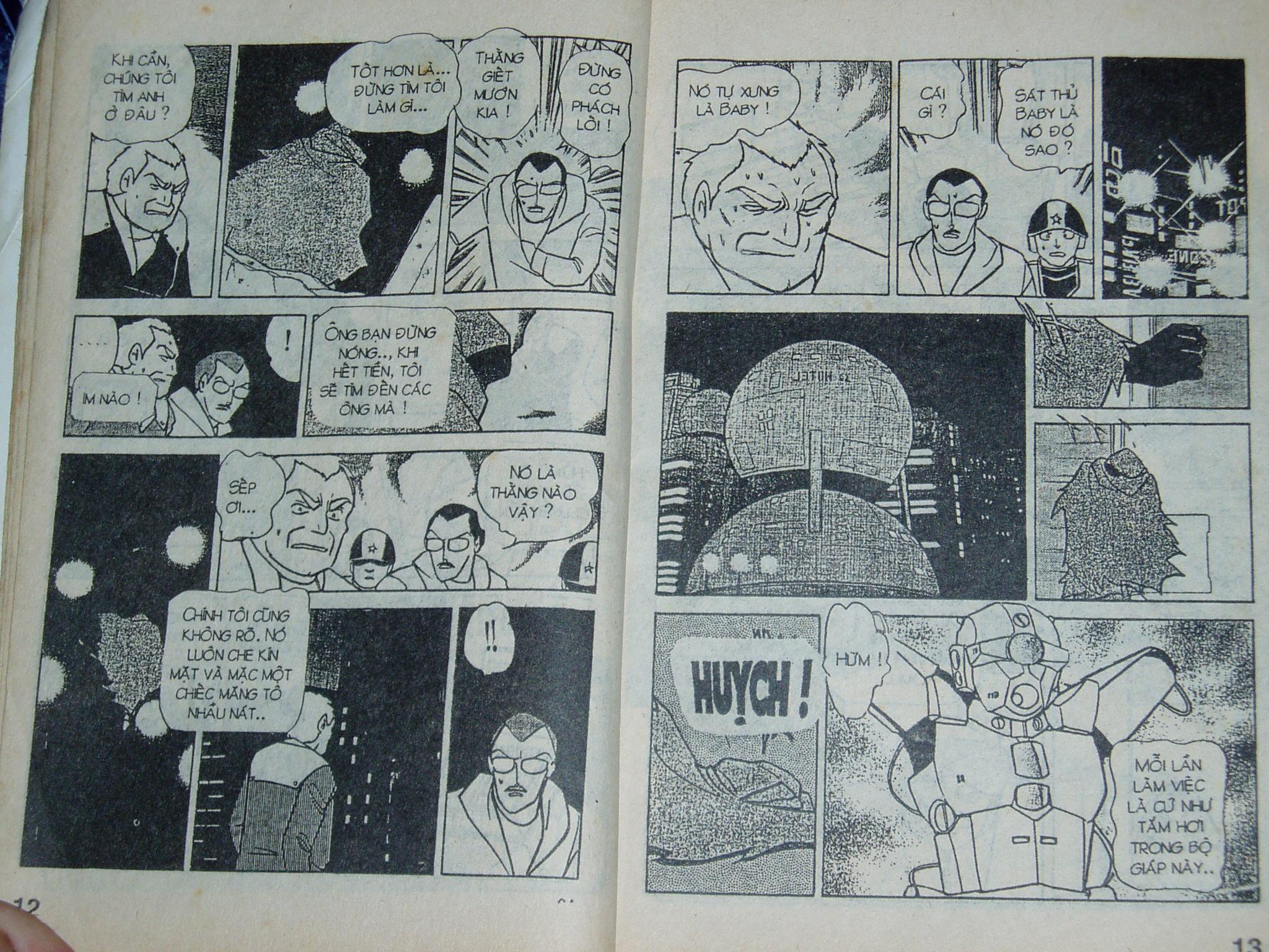 Siêu nhân Locke vol 16 trang 5