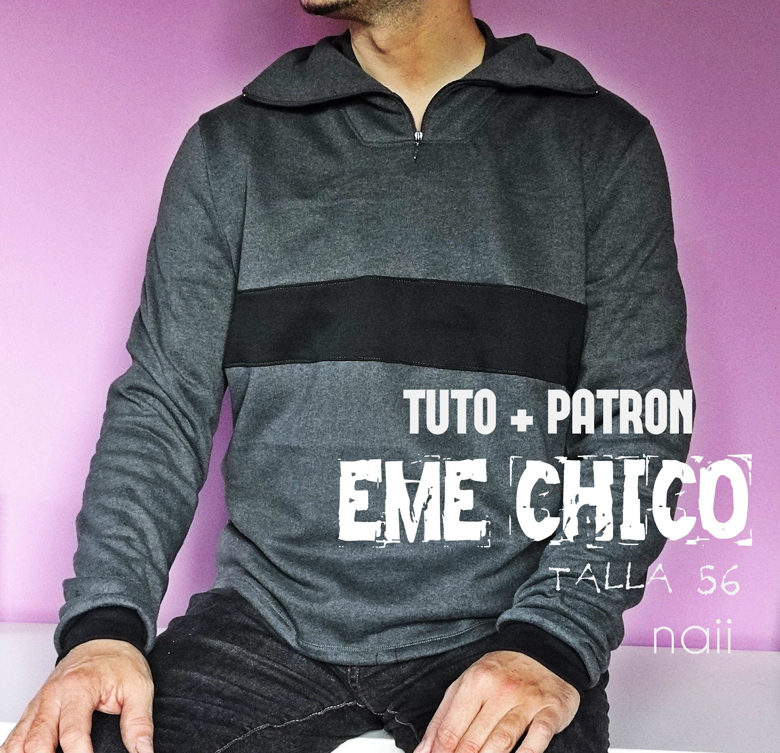 Eme Chico Tutorial+Patrón