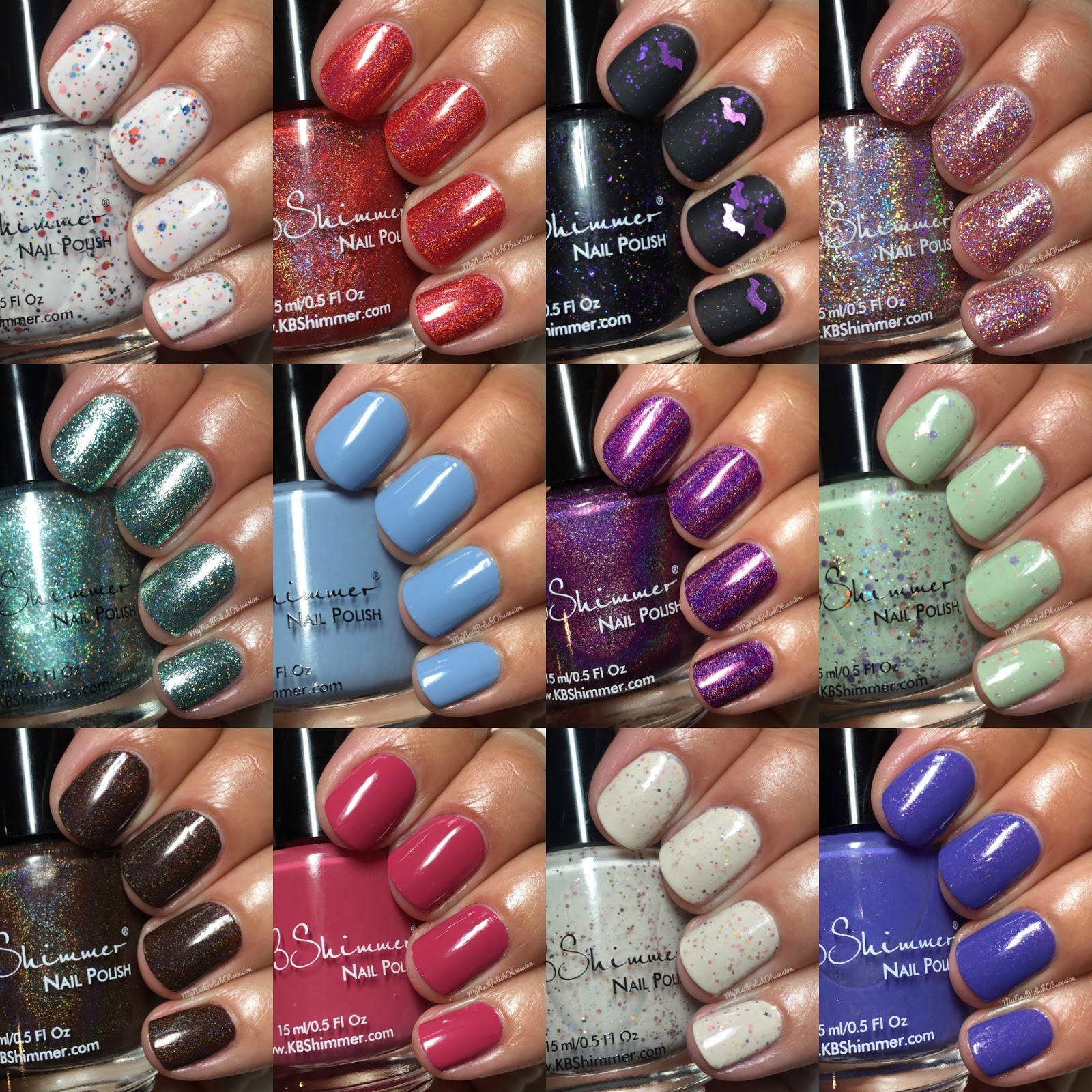 My Nail Polish Obsession: KBShimmer Fall 2016 Collection