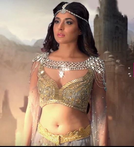 "Kritka Kamra's Hotness Level Rises in TV serial ""Chandrakanta"""