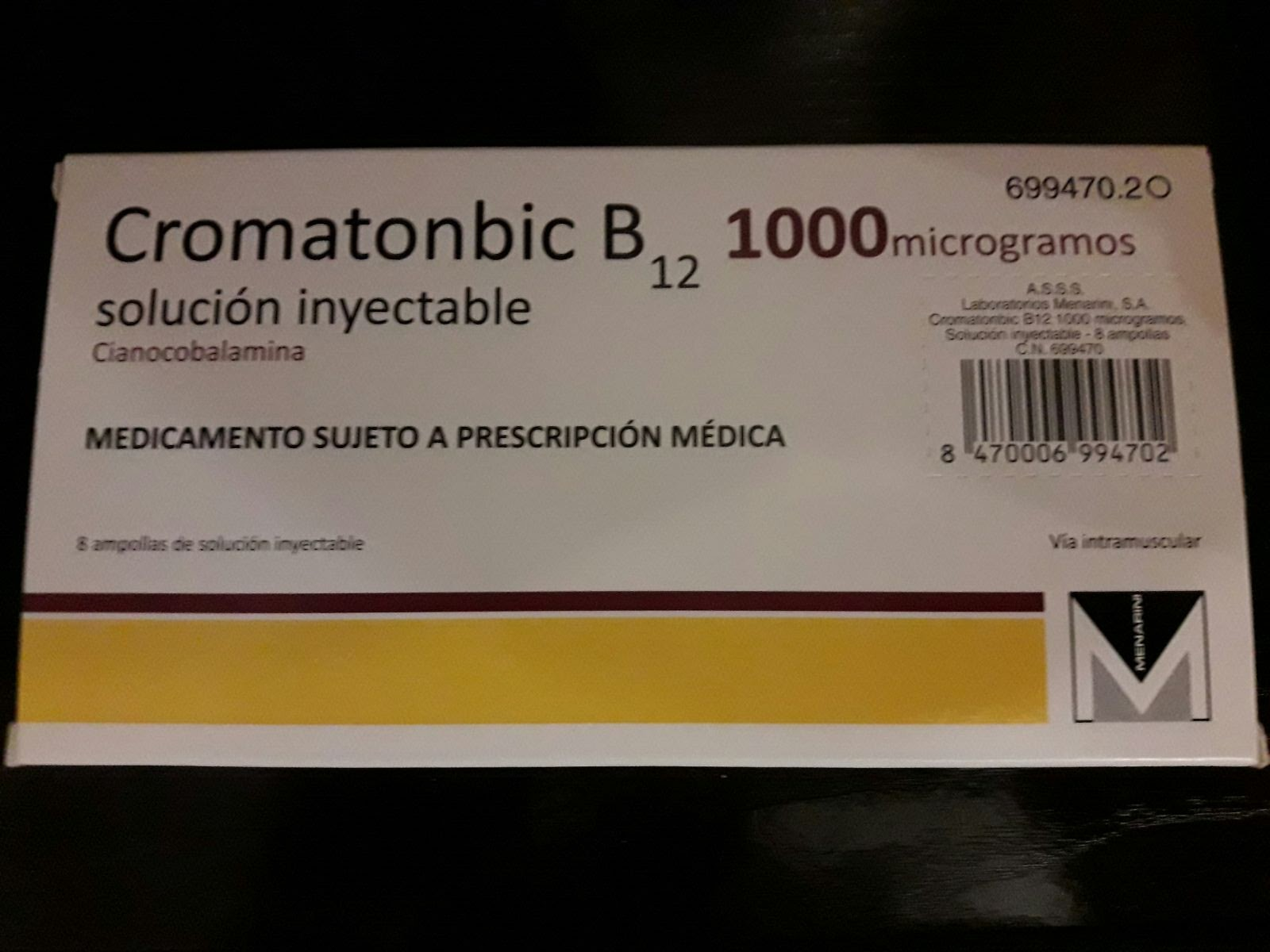 Vitamina b12 inyectable para adelgazar