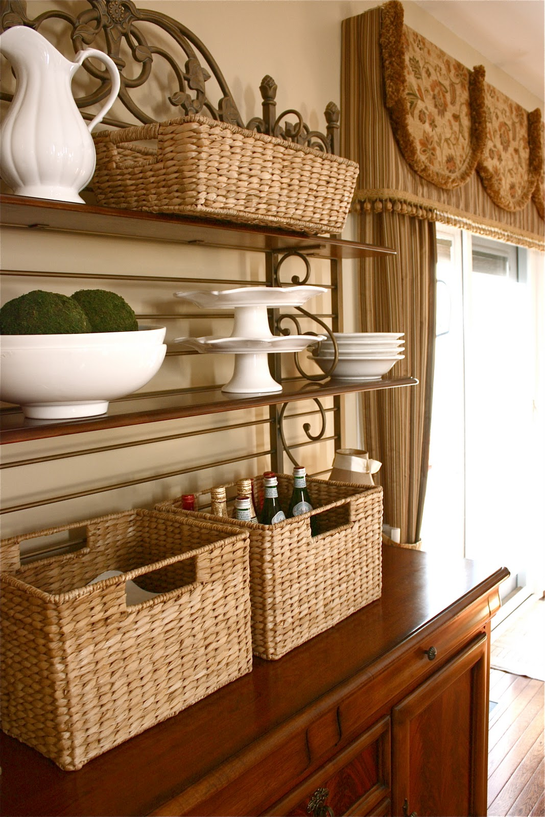 Dining Room Hutches Small Hutch Furniture Room Furniture: The Yellow Cape Cod: Styling A Dining Room Hutch For