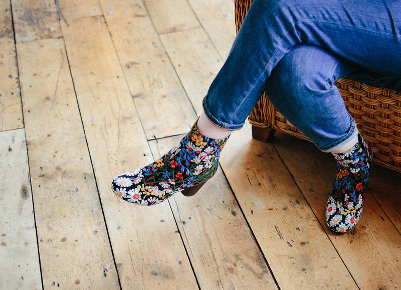 asos Jacquard floral boots xbambalan bristol