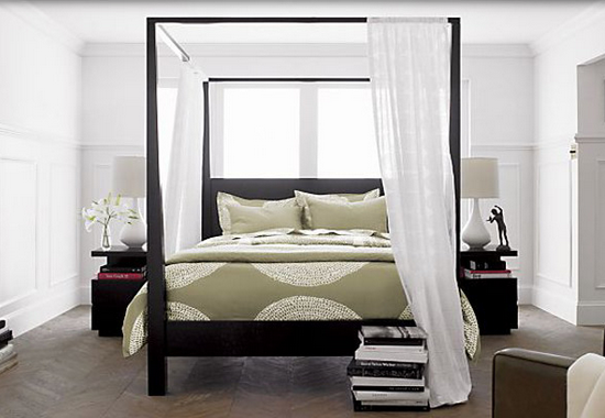 Dreamy and Romantic Full Draped Canopy Beds 7