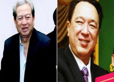 Kakak beradik Michael Bambang Hartono- Robert Budi Hartono