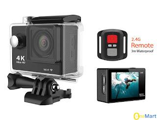 Camera hành trình Eken 4k ultra wifi có remote