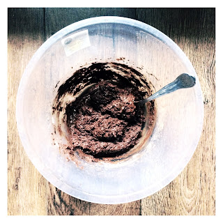 Brownie batter, brownies, cacao, cacao powder, Jim Jams