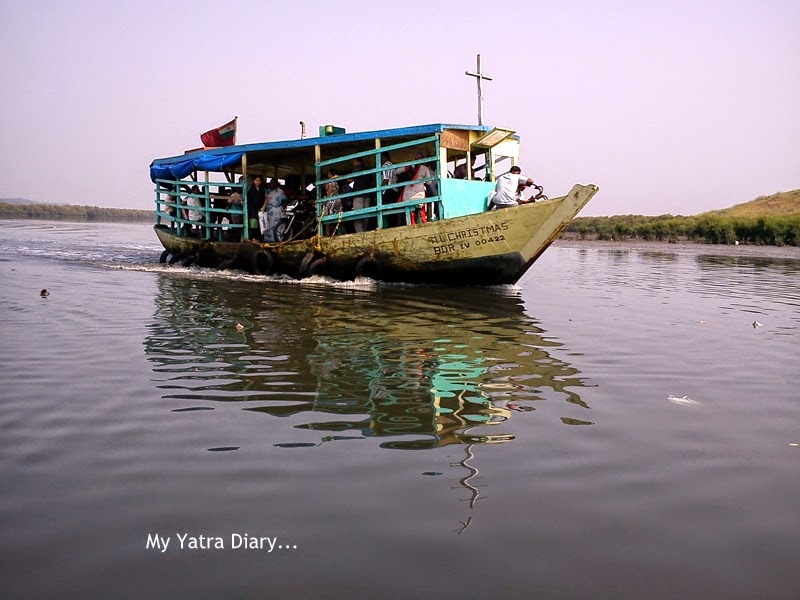 Ferry - An Indian public mode of transportation