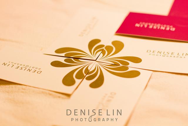 Denise Lin Photography Business Card