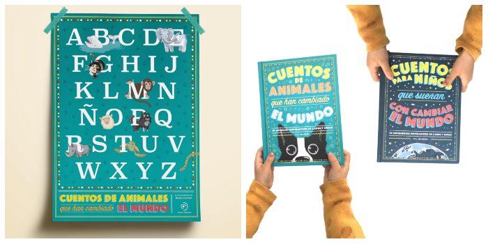 libro Cuentos de animales que han cambiado el mundo, editorial Duomo