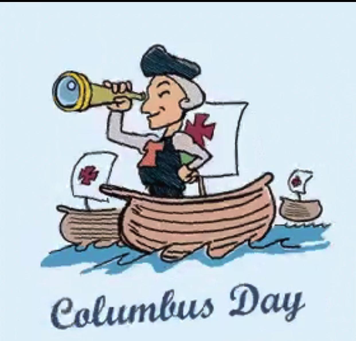 3rd Dog Script: E Comics On Columbus Day Holyday & Nice