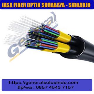 jasa instalasi borongan galian kabel fiber optic surabaya